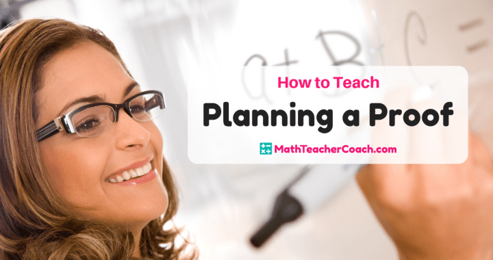How to Teach Planning a Proof Geometry - Worksheet, Guided Notes, PowerPoint, Quiz