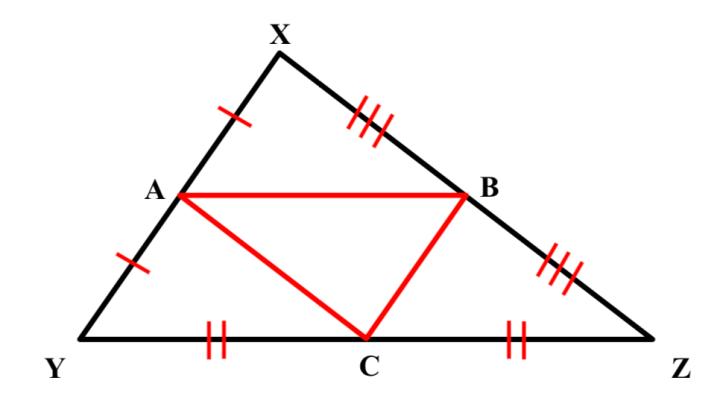 Midsegments Of Triangles Teaching Geometry