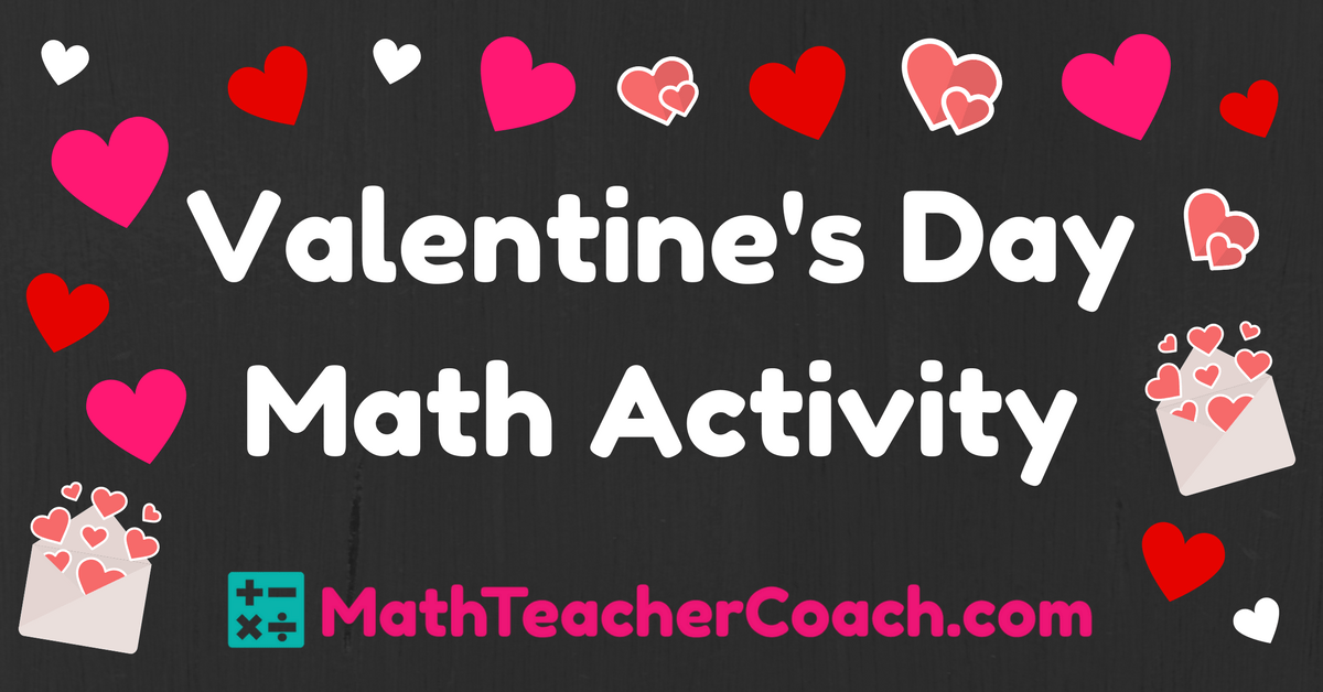 Valentine's Day Math Activity – Classifying Quadrilaterals