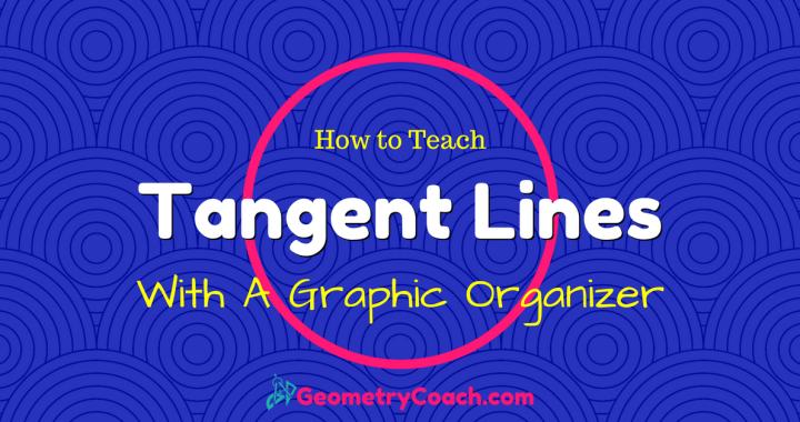 Circles - Tangent Lines Graphic Organizer