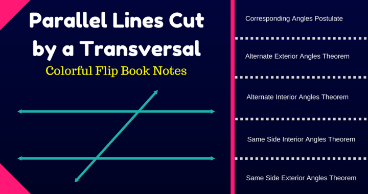 Parallel Lines Cut by a Transversal Worksheet