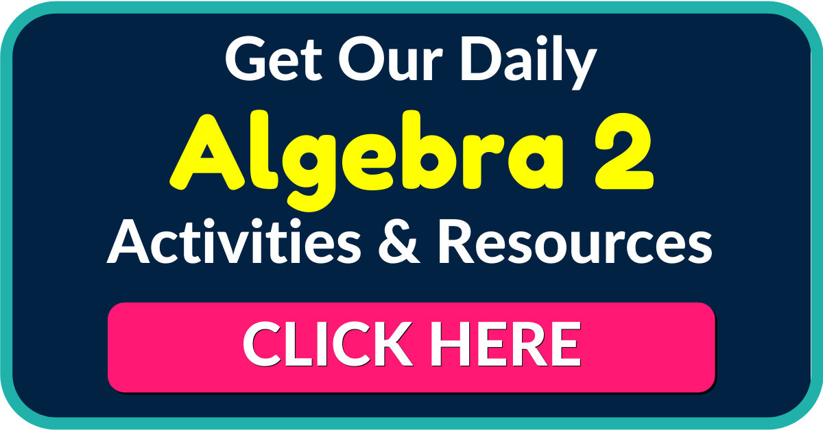 Algebra 2 Worksheets