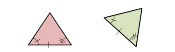 two triangles that are congruent by the ASA postulate
