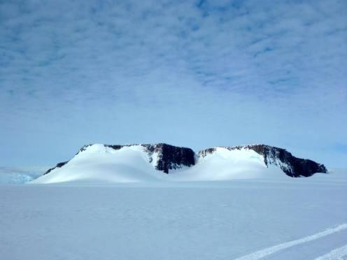 Vesleskarvet as seen from the west looking east