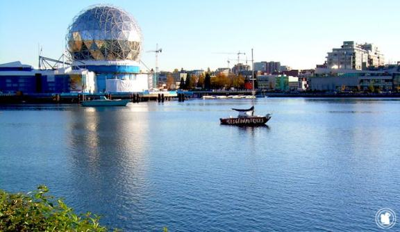 Science World et buildings, Vancouver