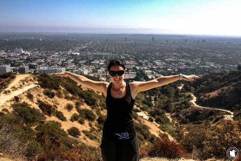 Top of Runyon Canyon à Los Angeles
