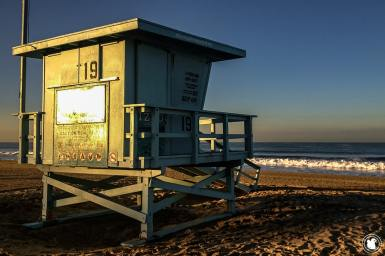 Waking up on Venice Beach