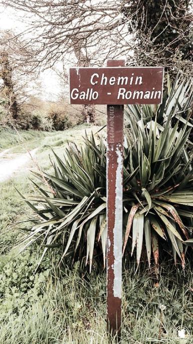 Chemin Gallo-romain - Dinan, Bretagne