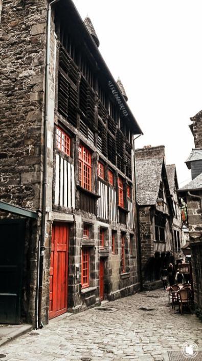 Maison en pans de bois - Dinan, Bretagne