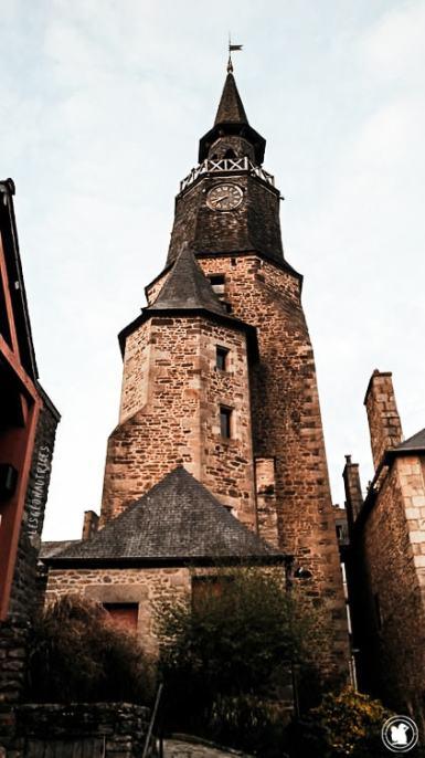 Tour de l'horloge - Dinan, Bretagne