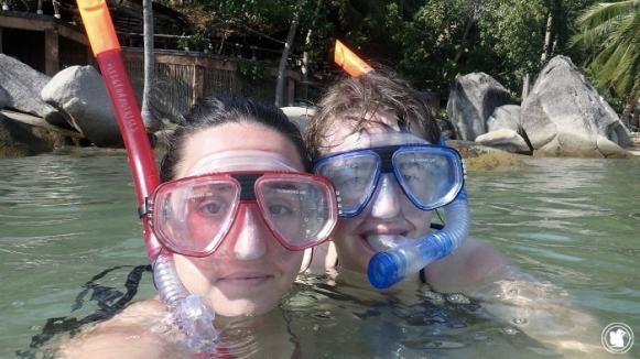 Snorkeling à Koh Tao, Thaïlande