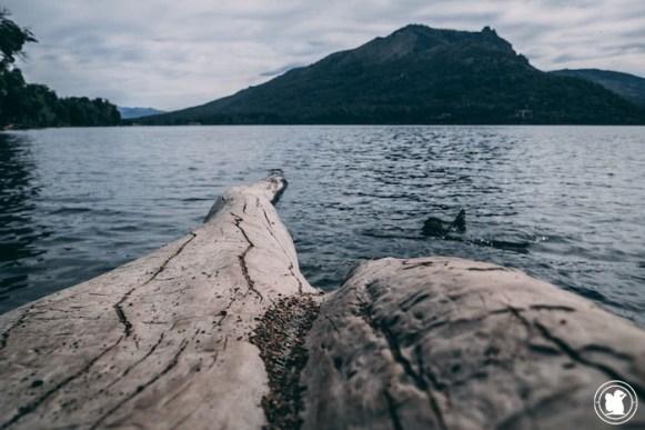 Lago Gutierrez, Bariloche, Argentine