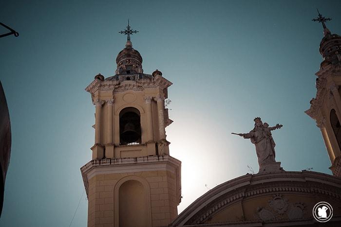 Le clocher de la cathédrale de Córdoba, Argentine