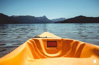 Lago Espejo sur la route des 7 lacs en Argentine