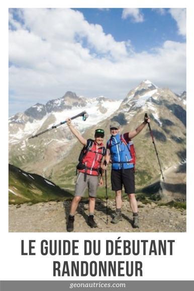 Le guide du débutant randonneur. Retrouvez dans ce guide 15 conseils pour bien débuter en randonnée et apprécier marcher en montagne ! Peu importe votre niveau sportif, vous pouvez le faire ! #randonnee #debutantrandonneur #conseils #guide