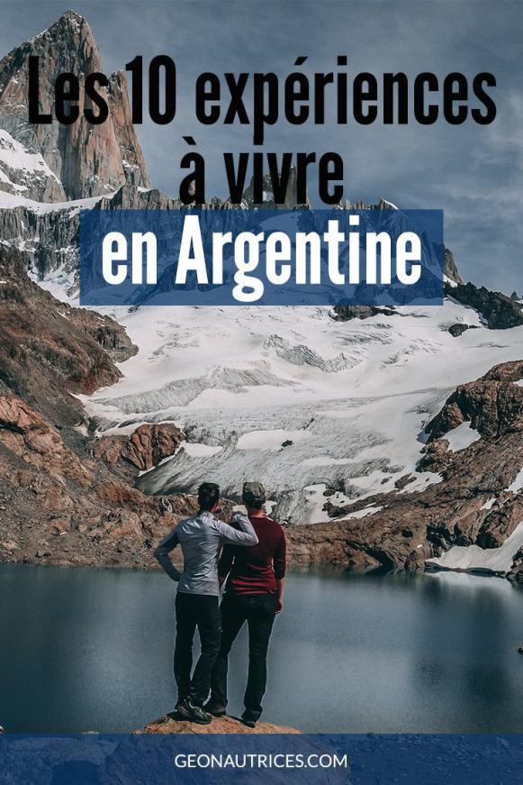 Nous avons énormément (très beaucoup passionnément) aimé l'Argentine, que ce soit pour ses paysages hors du communs et tellement variés entre le sud et le nord, l'est et l'ouest, que pour les rencontre et les expériences que nous avons vécu lors de notre PVT de 9 mois. Quelles sont les 10 expériences que l'on a le plus retenu ? C'est dans cet article ! #Argentine #viedevoyage #decouvrir