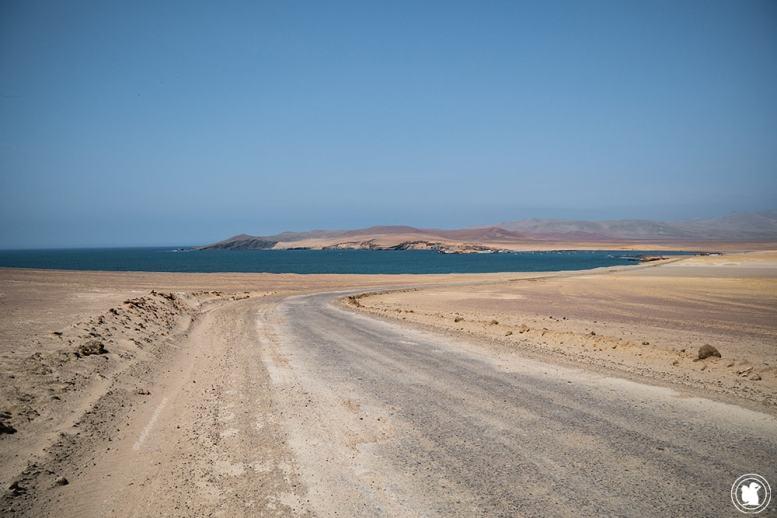 Désert de la réserve naturelle de Paracas