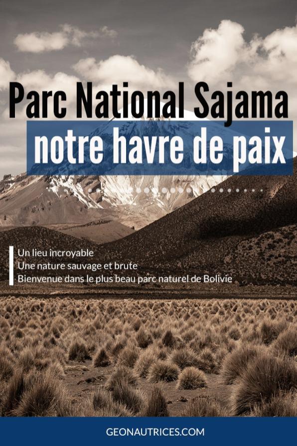 Le parc national Sajama a été notre havre de paix en Bolivie. Un lieu que l'on a pris le temps de découvrir en quelques jours et qui a été notre coup de cœur du pays ! #bolivie #sajama #peaceful