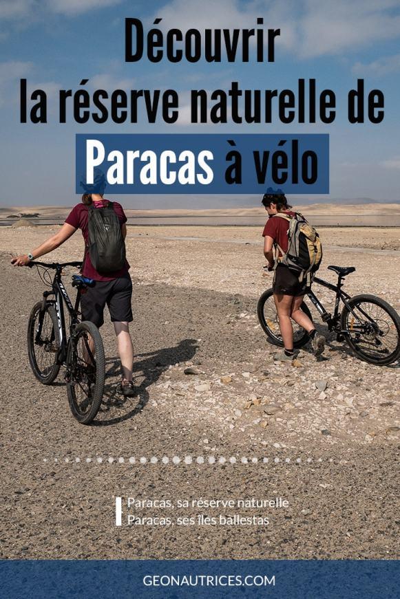 À la découverte d'un lieu désertique où le sable nous entoure : la péninsule de Paracas et la réserve naturelle du même nom ainsi que la réserve naturelle des îles Ballestas. On y va ! #perou #voyageslow #decouverte #vélo