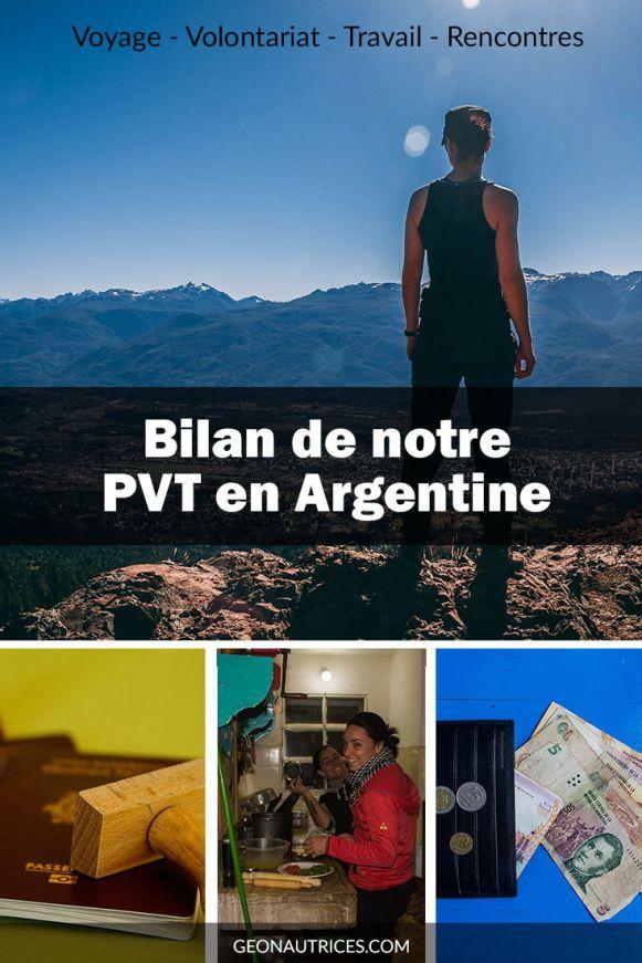 Nous faisons le bilan de nos 8 mois et demi de PVT en Argentine. Entre voyage, volontariats, travail et rencontres, nous avons vécu une magnifique expérience. Nous vous partageons tout ça dans cet article ! #Argentine #PVT #WHV #Voyage #slowtravel