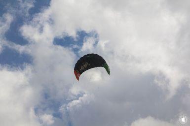 Côte d'Opale, kite surf sur le site des Deux Caps