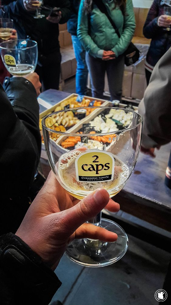 Dégustation de la bière 2 Caps