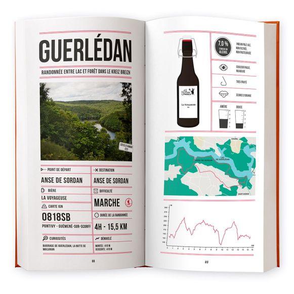Pages du livre Randos bière en France