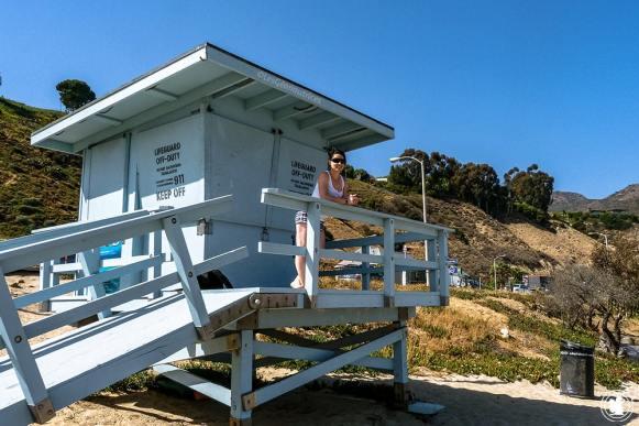 Premiers pas à Malibu beach