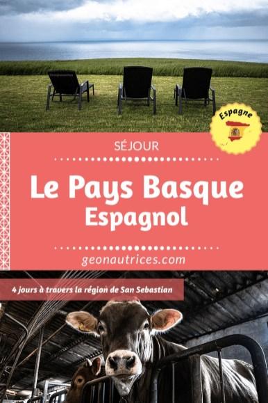Le pays basque espagnol, terre de traditions et de valeurs profondes. Allez découvrir ce bout de pays qui a tant à vous offrir ! #culture #tradition #paysbasque