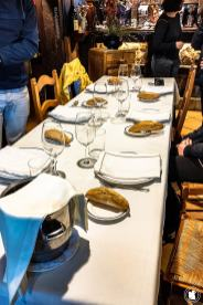 Table du restaurant Bedua à Zumaia - blogtrip Nekatur