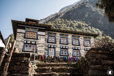 Trek des 3 cols - Maison himalayenne