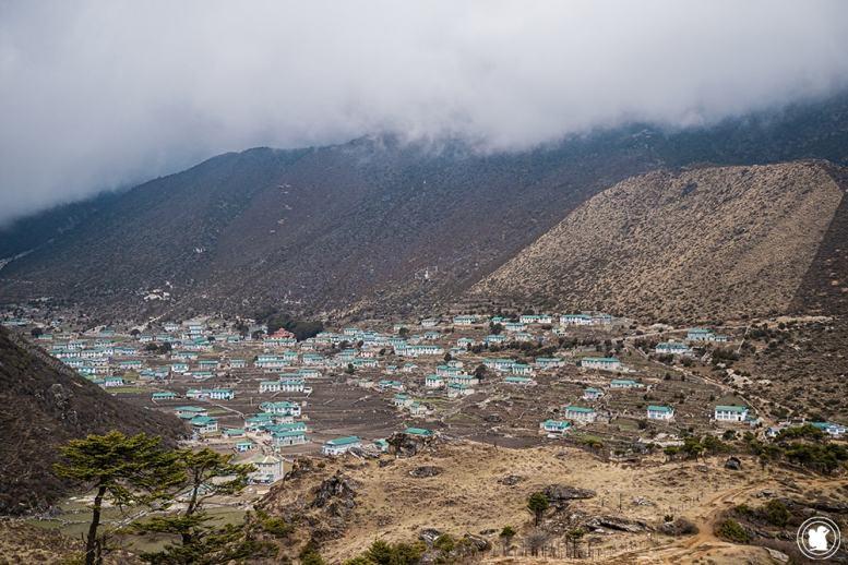 Trek des 3 cols - Village de Khumjung