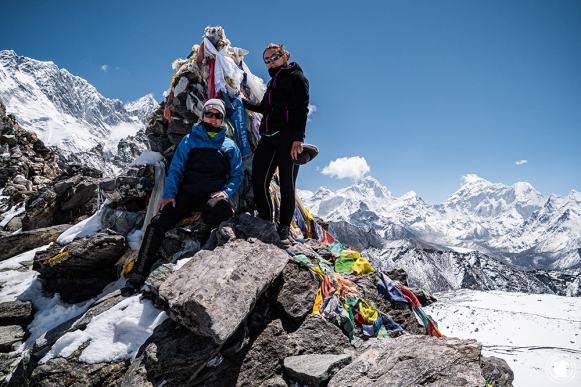 Trek des 3 cols - Au sommet du Kong Ma La à 5535 mètres d'altitude