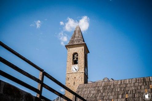 Trek Val d'Allos église de Villars-Colmars