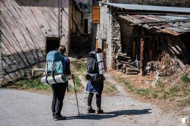 Trek Val d'Allos Enora et Anais