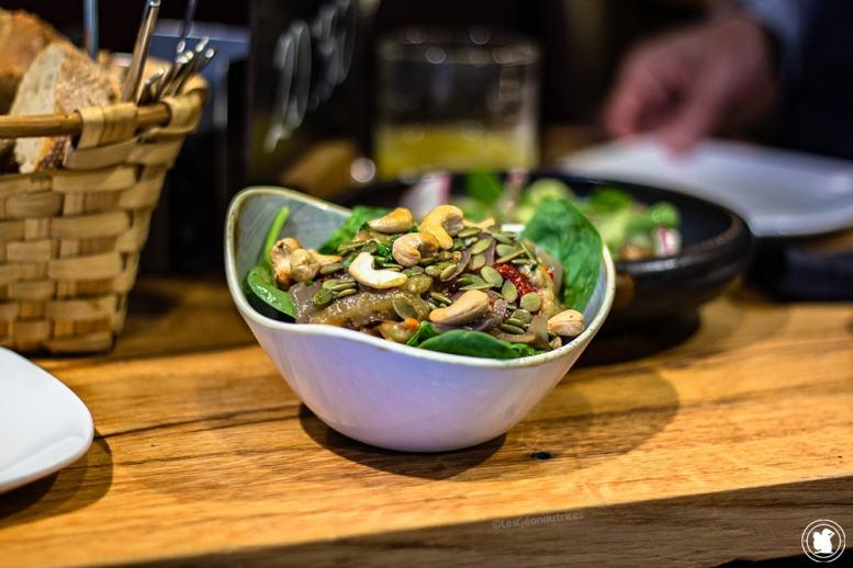 Pintxos salade - blogtrip Nekatur