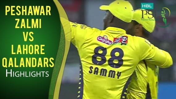 PSL 4: Peshawar Zalmi vs Lahore Qalanders Full Highlights - 17 February 2019 – Live Cricket Streaming-PSL 2019-PSL 19