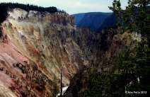 The Little Grand Canyon, Yellowstone National Park