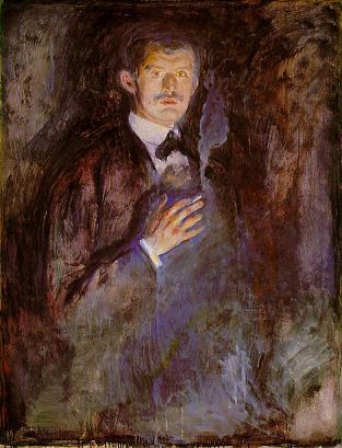 Munch, Self Portrait