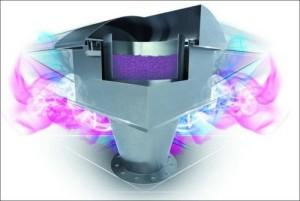 Kemični filter za zrak za dejavnost VO-KA