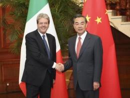 CHINA-BEIJING-WANG YI-ITALIAN FM-TALKS(CN)