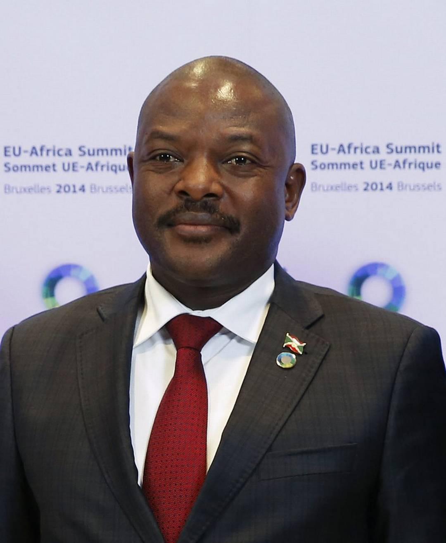 Pierre Nkurunziza, presidente del Burundi