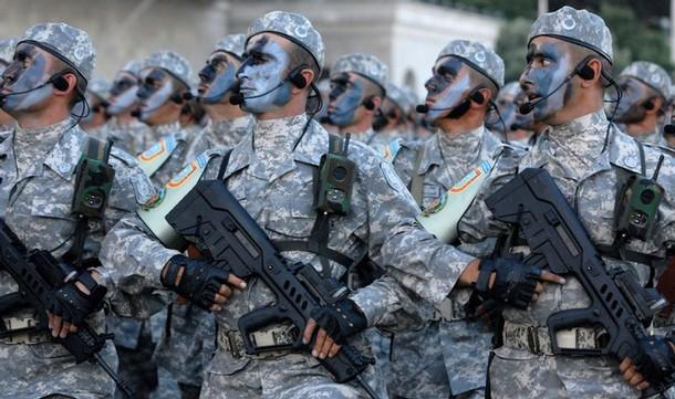 AZERBAIJAN-ARMY-PARADE