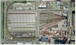 Plan view of the Hudson Yards Development