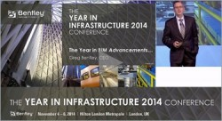 Greg Bentley gave a keynote on The Year in BIM Enhancements at the Year in Infrastructure 2014 Conference