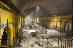 East Cavern of NY MTA's East Side Access Tunnel Project
