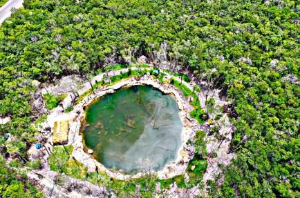 Dragado de Cenote Riviera Maya