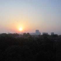 New dawn, Connaught Place