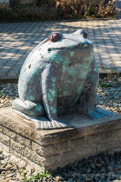 Der Selzer Frosch am Amiche-Radweg - Bild Nr. 201508022743