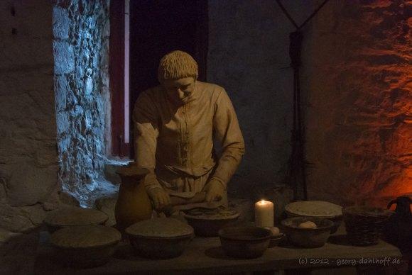 Stirling Castle: Mittelalterliche Küche – Bild Nr. 201206273927